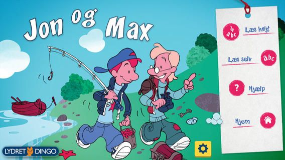 TRÆNING: Gyldendals populære Lydret Dingo-bøger (let 10-13) findes nu som app. Det er muligt for eleven at lytte og dernæst indtale oplæsning, samt afspille egen oplæsning. Der er 10 bøger - den første bog er gratis.
