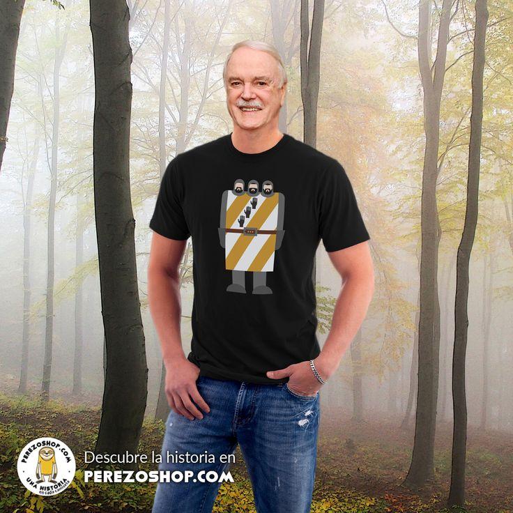 Camiseta Caballero de las Tres Cabezas, de la película El Rey Arturo y los caballeros de la Mesa Cuadrada de los Monty Python.