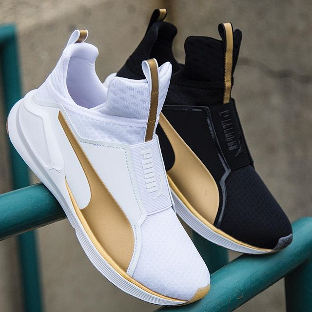 All New Puma Fierce Gold Womens Training Shoe #StayFierce