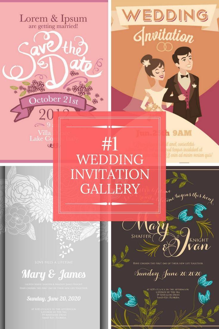438 best Wedding Invitation images on Pinterest