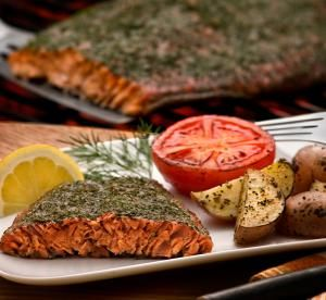 Caramelized Grilled Salmon - The Clorox Company