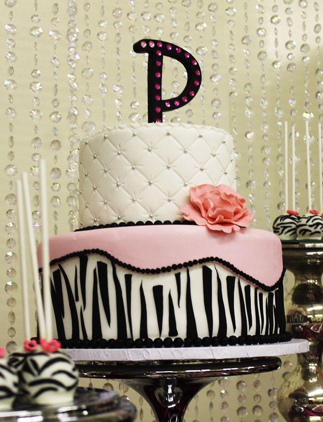 Zebra Cakes For Baby Shower