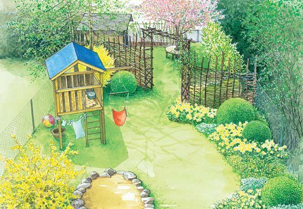 396 best GARDENING images on Pinterest Small gardens, Zen gardens - schoner garten mit wenig geld