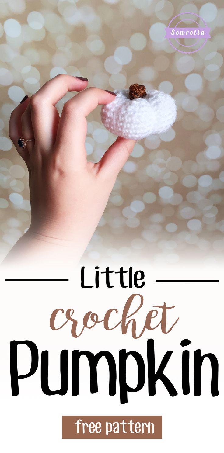 Little Crochet Pumpkin | Free Pattern from Sewrella