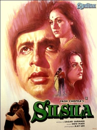 I love classic Bollywood film posters. Here's a selection