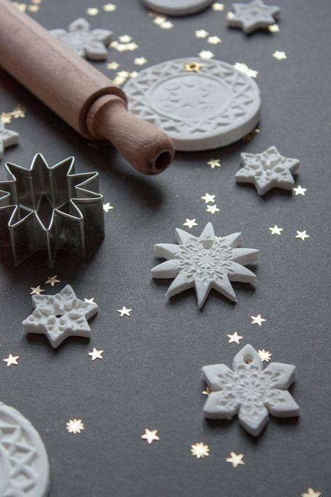 Geschenkanhänger basteln für Weihnachten #weihnachten #selbstgebastelt #geschenkanhänger #fimoair #weihnachtsdekoration #Weihnachtsdeko #diy