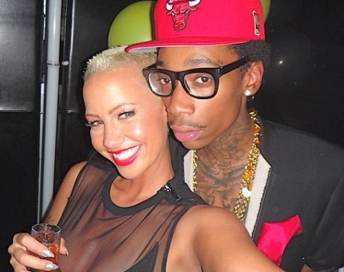 Legit or Dismiss: Amber Rose & Wiz Khalifa Expecting Are Expecting Their First Child?