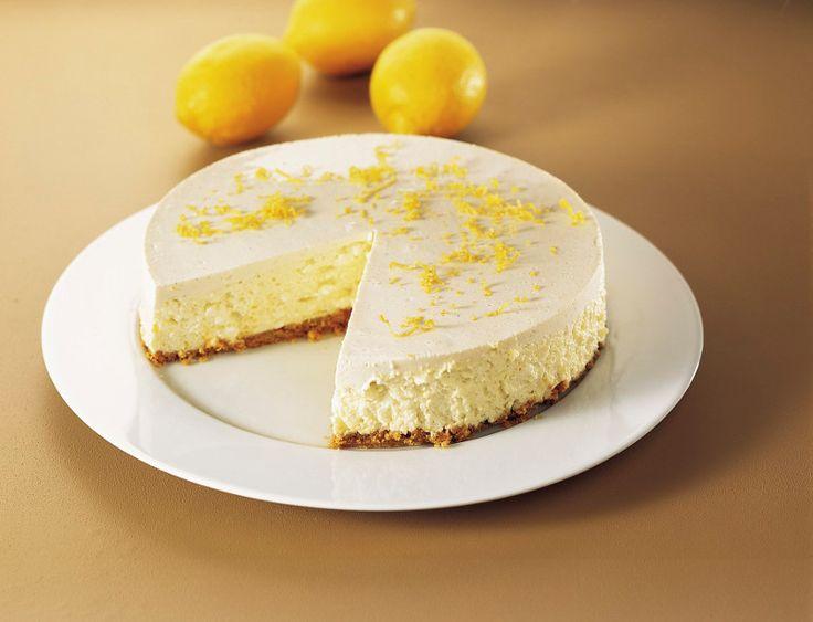 Klasszikus sajttorta - sütés nélkül, laktózmentes Sütést sem igényel és 45 perc alatt összeállítható a laktózmentes sajttorta receptünk.