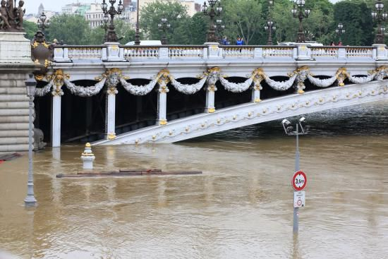 Climate Change Played a Role in Paris Floods, Report Says