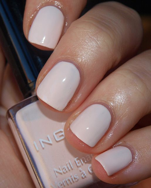 Inglot nail enamel 331. -- I love nudie color polish!!!