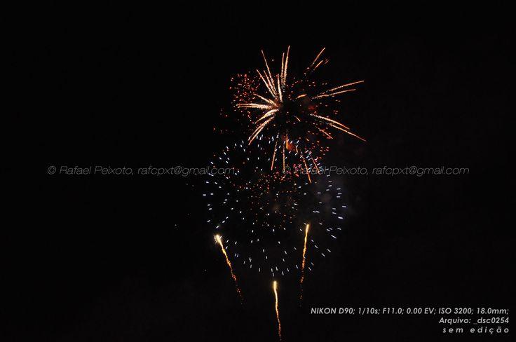 Fogo de artifício... Uma luz dinâmica...