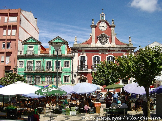 Caldas da Rainha - Portugal. This is where we have our apartment