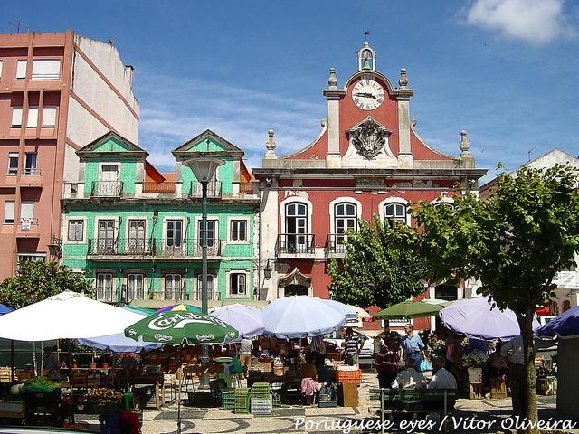 Praça da República - Caldas da Rainha - Portugal .