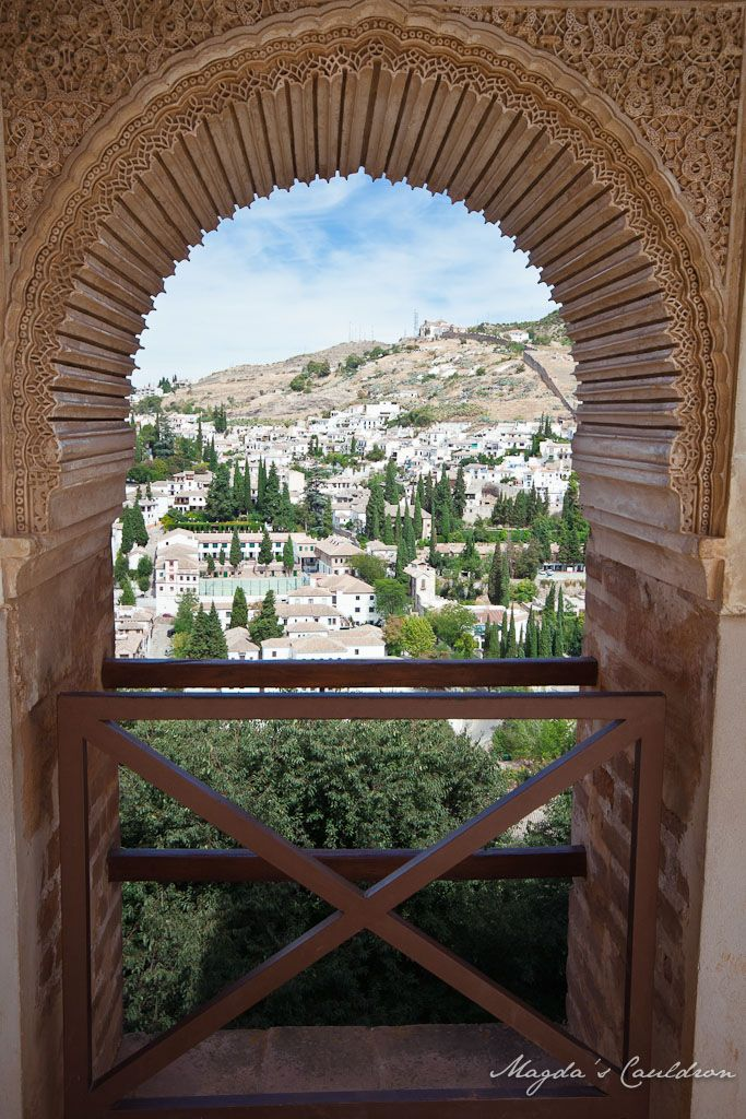 The Nasrid Palaces, Alhabra, Granada, Spain - the detail