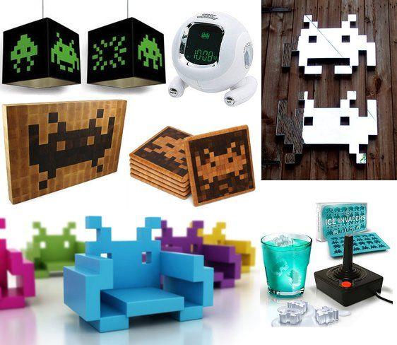 Space Invaders Decor | POPSUGAR Tech
