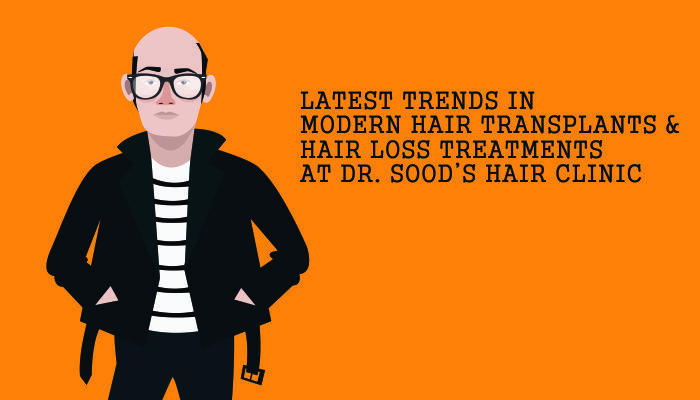 Latest trends in modern hair transplants and hair loss treatments at Dr. Sood's Hair Clinic Read more: https://goo.gl/hGYoGT #Trends #HairTransplant #HairLoss #Treatment #Surgery #Doctor #PRP #DrSoodsClini