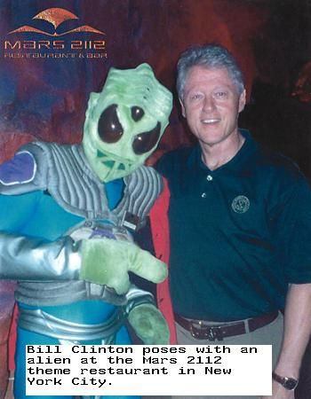 "Bill Clinton: An Alien Invasion ""May Be The Only Way To Unite This Increasingly Divided World"" -"