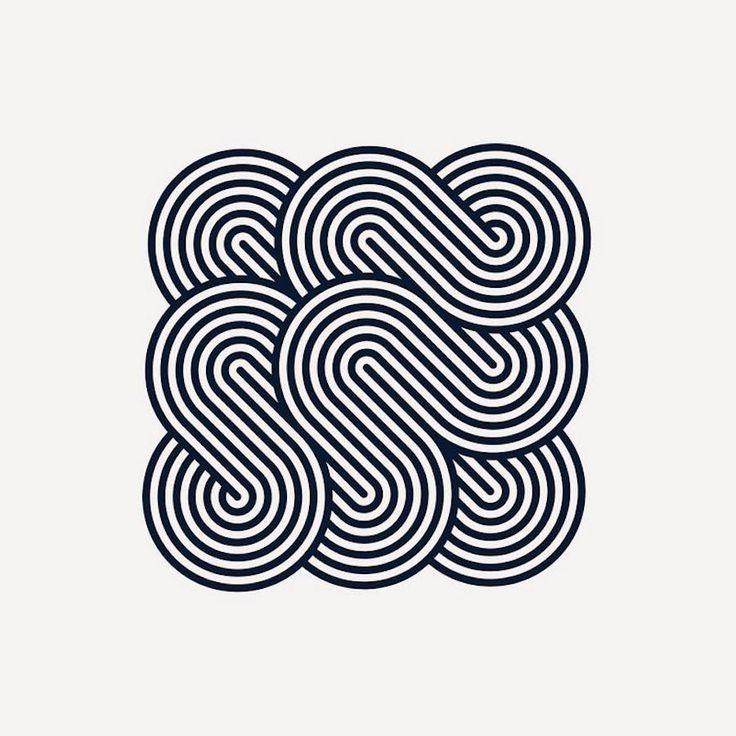 Visual Geometric Patterns by Seth Nickerson – Fubiz Media