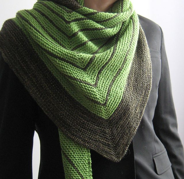 this one made of fingering weight yarn is lovely and the colour combinations are endless. Pattern available from Ravelry.