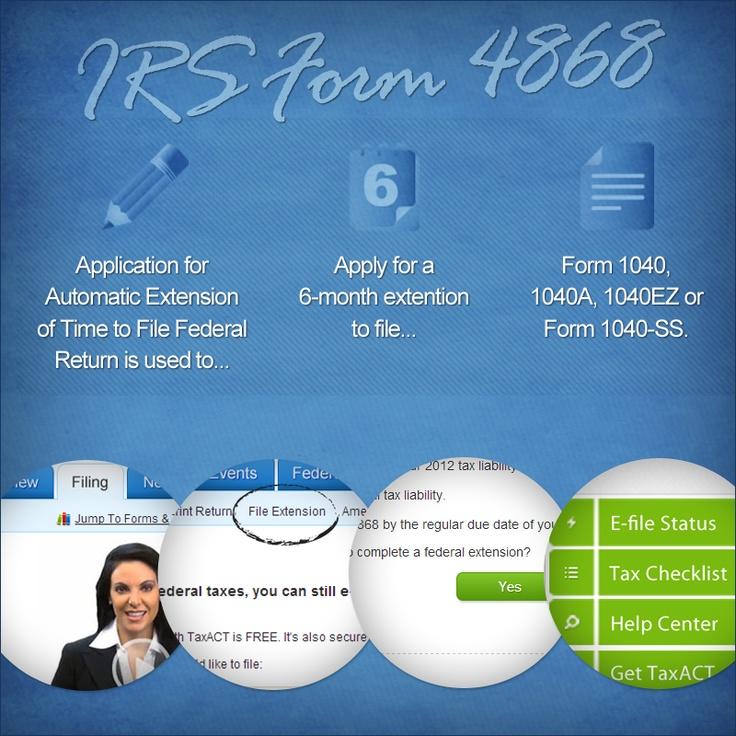 o you need more time in filing your income tax return? Don't sweat it – it's easy to get a tax extension to file your return. How to File a Tax Extension [Infographic] -> http://blog.taxact.com/how-to-file-a-tax-extension-infographic/ #taxact #taxtips