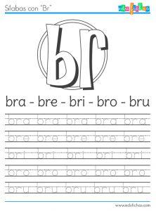 sílabas con br