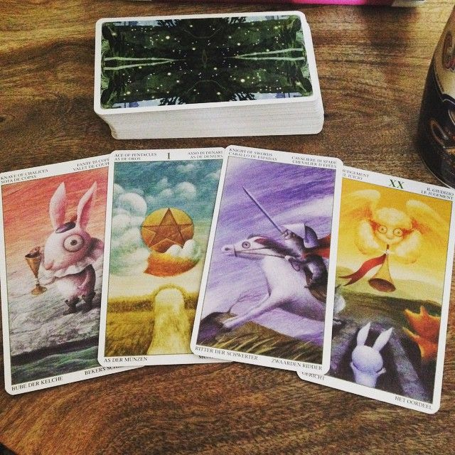 tarot of magical forest