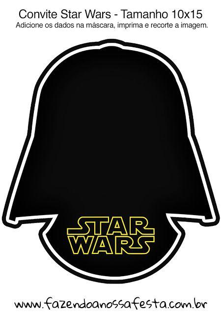 Star Wars: Free Printable Invitations. | Oh My Fiesta! for Geeks