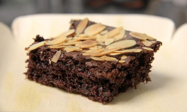 Schoko-Mandel-Kirsch-Brownie glutenfrei