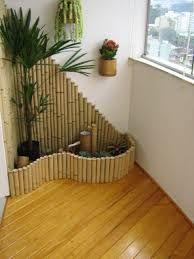 Resultado de imagem para banheiro decorado com bambu