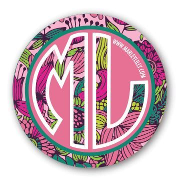 FREE Marley Lilly Stickers