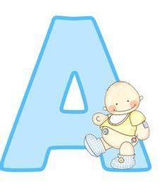 Letras mayúsculas para imprimir, de bebé. Letra, vocal A.