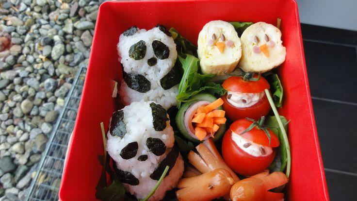Mimi Sensei - Moderne japansk mad, Anime og lidt kultur: Obento - Japansk madpakke - Nuttet og lækker !!