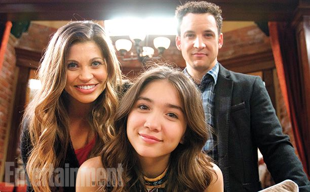 "#ThrowbackThursday-- sort of. Check out these pics of the new ""Girl Meets World"" series! (Via Entertainment Weekly)"