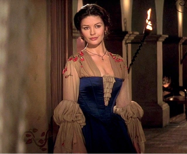 Catherine Zeta Jones, The mask of Zorro