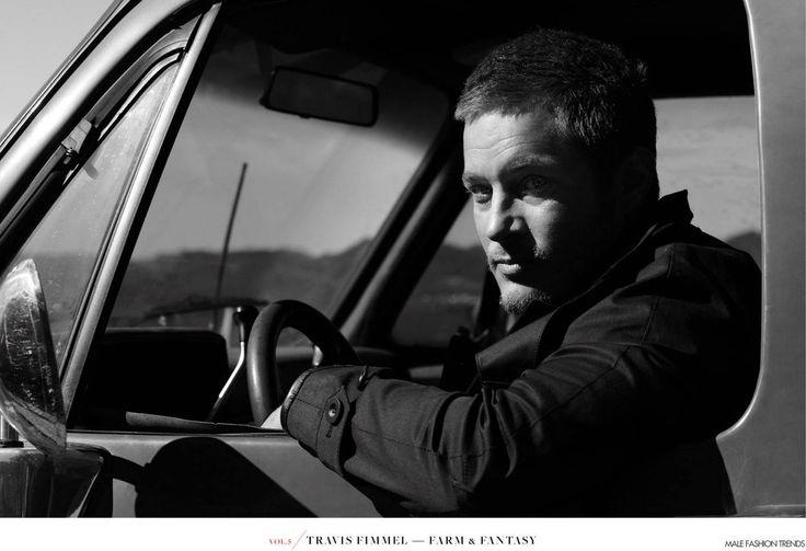 Male Fashion Trends: Travis Fimmel para At Large Magazine No. 5 por Randall Mesdon