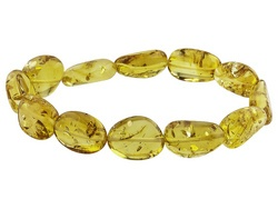 Baltic Amber stretch #bracelet from Jewelry Television