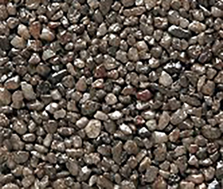 """Amazon.com : Safe & Non-Toxic {Small Size, 0.12"""" Inch} 3 Pound Bag of Gravel & Pebbles Decor Made of Genuine Quartz for Freshwater Aquarium w/ Dark Sleek Modern Simple River Inspired Earthy Toned Style [Gray] : Pet Supplies"""
