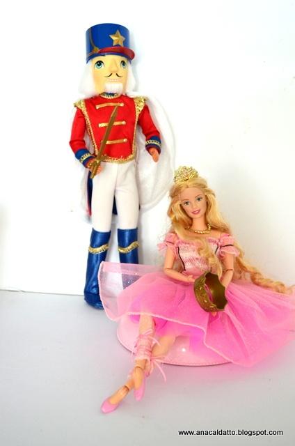 Ana Caldatto : Barbie e Ken - Casal de Bonecos em O Quebra Nozes de 2001