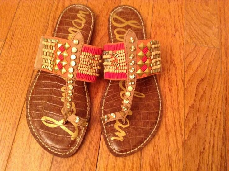 Sam Edelman Flat Sandals-Gilbson Tribal Toe Ring. Fell in love with these today!