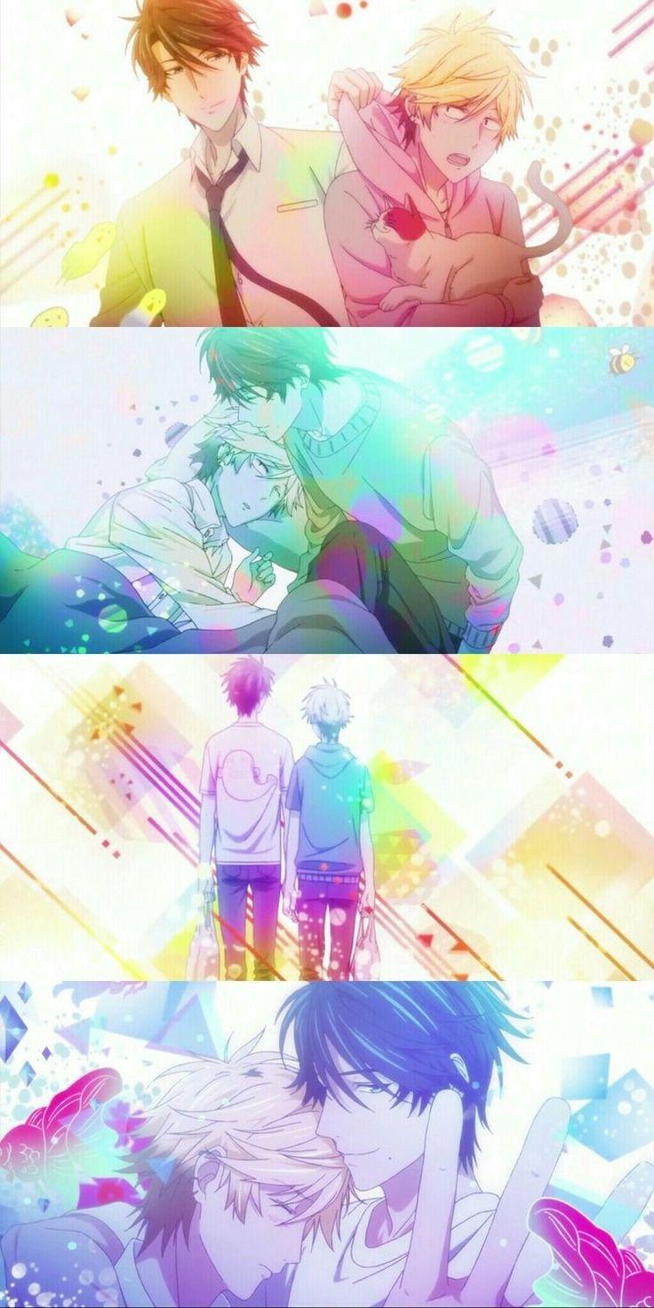 Hitorijime my hero. BL. Boys love. Setagawa masahiro, ooshiba kousuke (u lucky ass >:/). Anime. Cute.