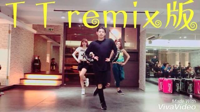 T T remix 版來囉 大家一起來學吧 還想看瓜瓜教什麼歌呢  完整版 嘻小瓜/謝文傑kuakua 粉絲專頁 #dance #remix #twice #tt #twicett