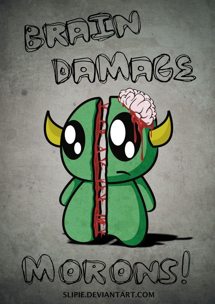 Brain damage by slipie.deviantart.com on @deviantART