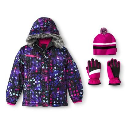 R Way By Zeroxposur Girls Tech Jacket With Matching Hat