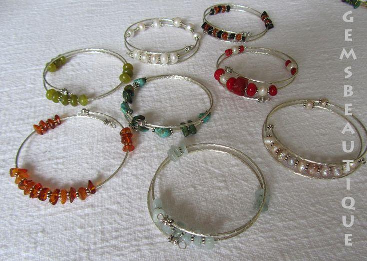 #Gemstone #bracelets  #Handmade by #GemsBeautique