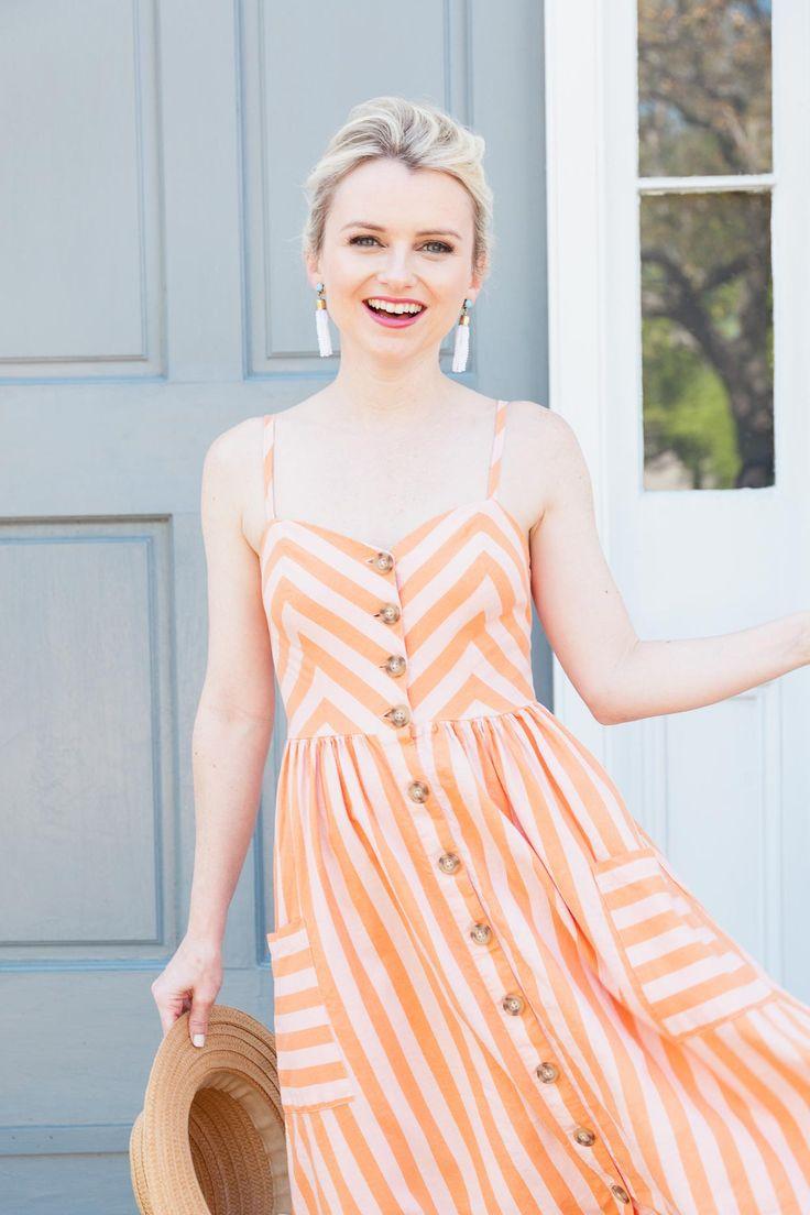 Linen Drawstring Dress Summer