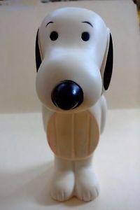 Vintage 1950 Avon Snoopy Soap Dish Vinyl Squeeze Doll 7'' T ...