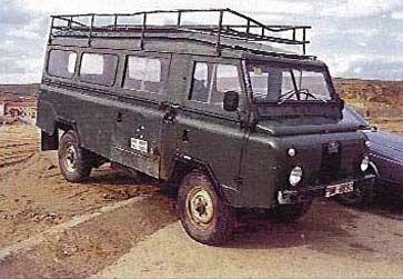 Historia Land Rover Santana, fabrica de coches