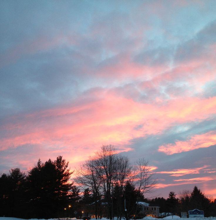 Love the way the sky looks