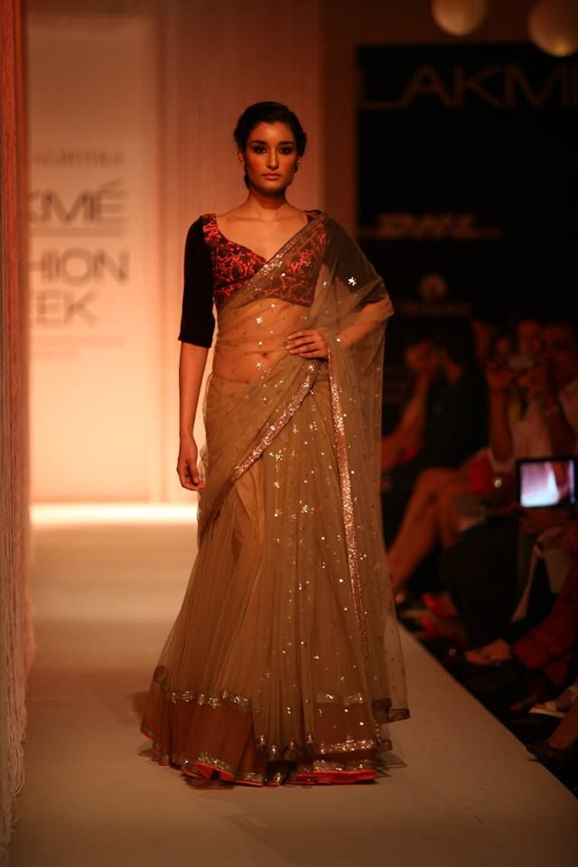 Manish Malhotra https://www.facebook.com/manishmalhotrapage @ Lakme Fashion Week 2013