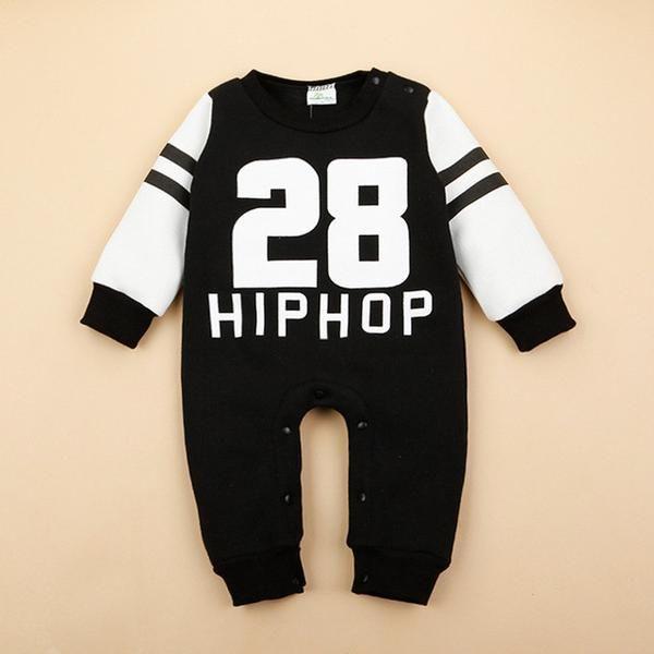 Hip Hop Sweatshirts Romper – Mamatree